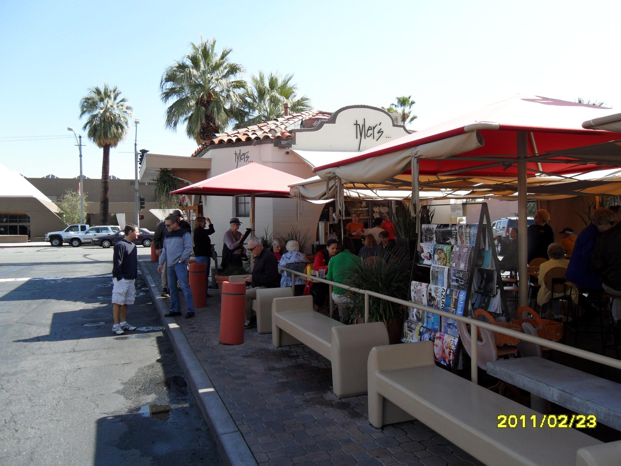 Tylers Burgers Palm Springs
