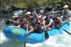 White Water Rafting in Oregon
