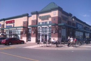 Starbucks at the Train Yards in Ottawa