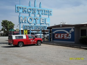 Frontier restaurant on route 66