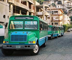 Buses of Puerto Vallarta