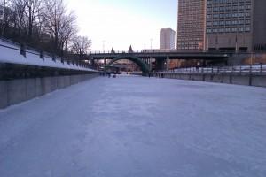 Rideau Canal Skating in Ottawa