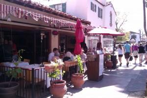 Zini Cafe Med in Palm Springs