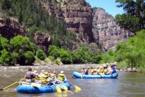 Colorado Rafting River whitewater