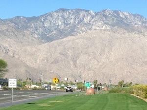 Biking around Palm Springs