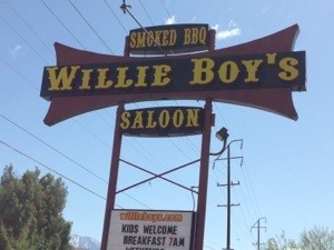 Willie Boys Saloon Morongo Valley