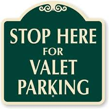Tipping Valet Parking