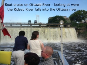 Rideau River Falls on the Ottawa River