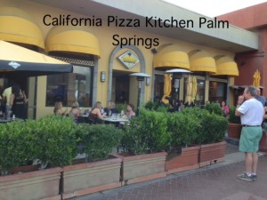 California Pizza Kitchen Palm Springs