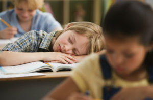 Teenagers Not Getting Enough Sleep