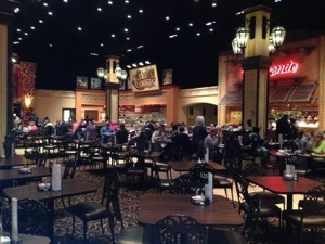 Horseshoe Casino buffet