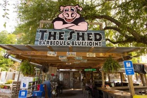 The shed barbeque