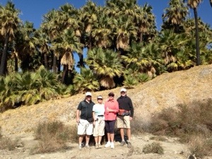Palm Springs – hiking and biking