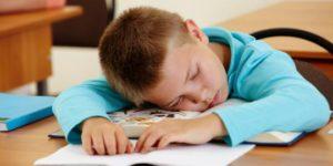 Kids Not Getting Enough Sleep