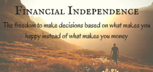 Financial Independence in Retirement